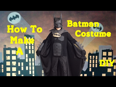 Make Your Own Batman Costume! (DIY)