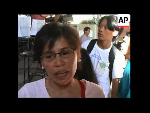 Voting begins in Philippines national elections