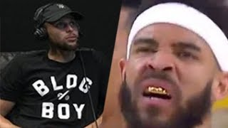 Steph Curry SHADES Media: Javale McGee DOMINATES With A GOLD GRILL!   2018 NBA Playoffs