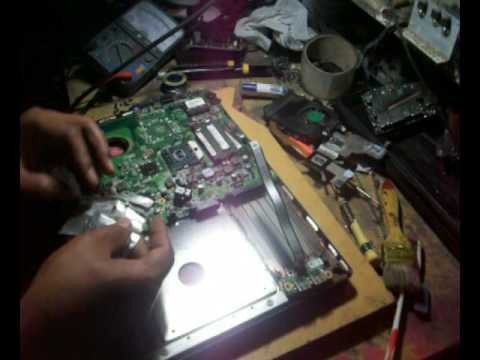 How to repair black screen laptop step by step until success