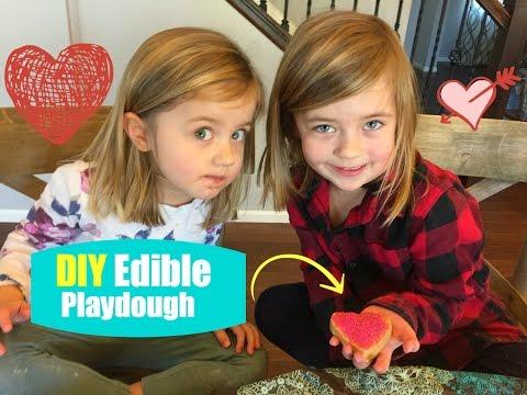 DIY: Easy Edible Play Dough! Only 3 Ingredients!