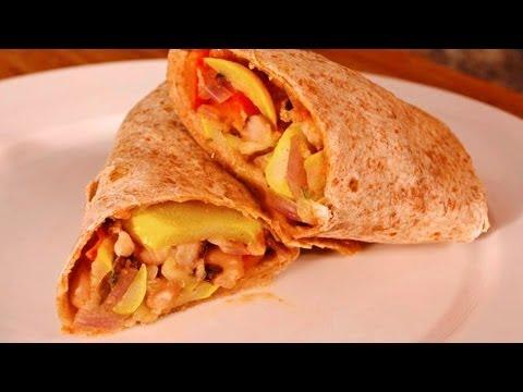 Vegetarian Burrito Recipe with Blackeyed Peas