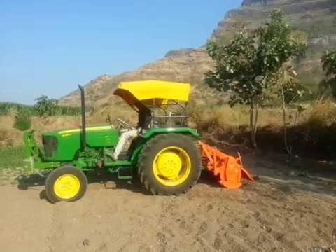New John Deere 5039 D 2018 Tractor with Shaktiman Rotavator|kids