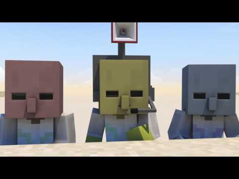 Meat Grinder - Minecraft Highlight Animation
