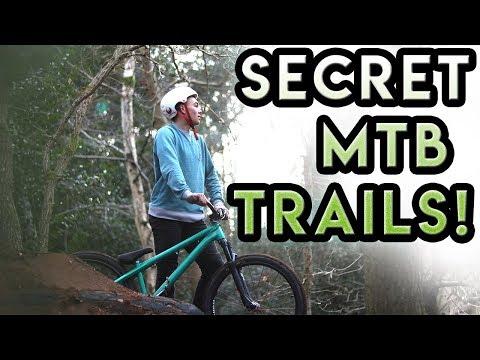 Building SICK TRAILS in a SECRET MTB PARADISE!