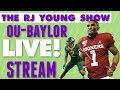 No 10 Oklahoma Wins A Thriller At No 13 Baylor Live Stream Instant Reaction