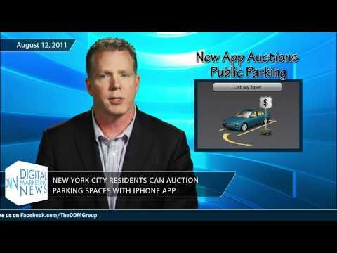 Digital Marketing News #109 - NYC Parking iPhone App, Next Gen 911