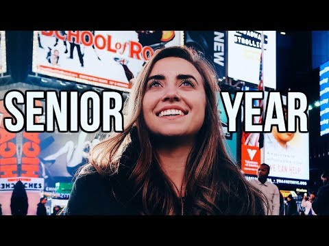 Senior Year in 7 Minutes   Year in Review