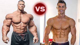 John Cena Vs Cristiano Ronaldo Transformation 2018   Who is Better?