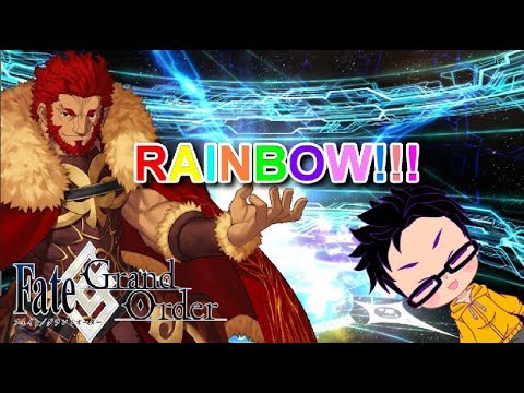 [Fate/Grand Order USA] Power of F2P!! Rolling for Iskandar