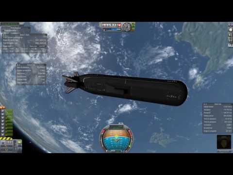 Most Kerbal Spacecraft Ever - Part 3 - Nuclear Sub Rocket On the Mun