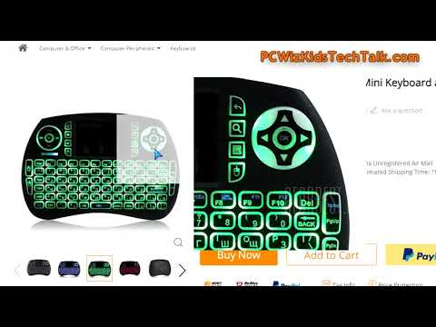 ✅Mini Wireless Keyboard and Mouse Combo Review