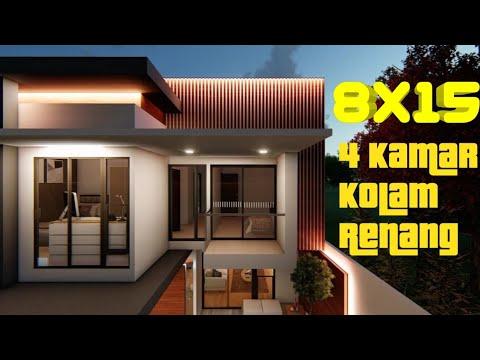 desain rumah ukuran 4 x 15 - sekitar rumah