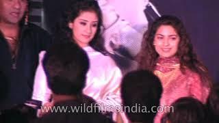 Akshay Kumar, Sanjay Dutt and Steven Segal at the mahurat of 'Raftaar'