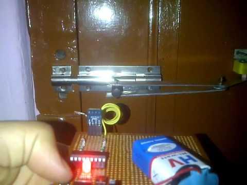 Remote control door locking system
