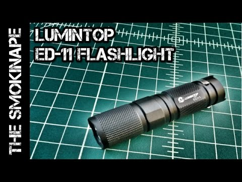 Lumintop ED11 - EDC Flashlight - TheSmokinApe