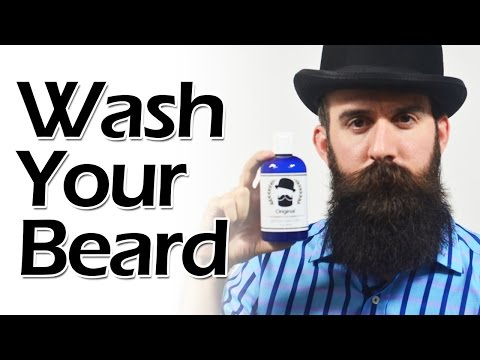 How to Wash a Beard