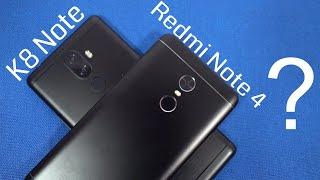 Lenovo K8 Note vs Redmi Note 4 Comparison Display, Cameras, Battery Life, Performance
