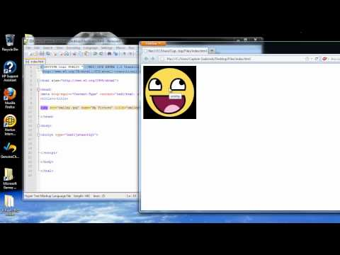 Javascript Tutorial 16 - More on Arrays and the Image Object