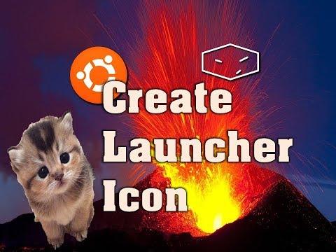 ubuntu create launcher icon