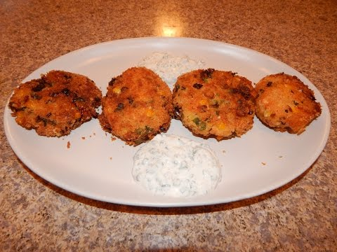 Salmon Patties Recipe - How To Make Salmon Croquettes