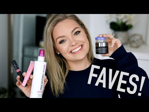 JANUARY FAVORITES 2018!