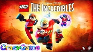 The Incredibles 2 Full Movie - LEGO The Incredibles Complete Movie Game - Best Action Cartoon Movie