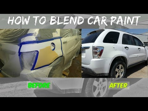HOW TO BLEND CAR PAINT like a PRO