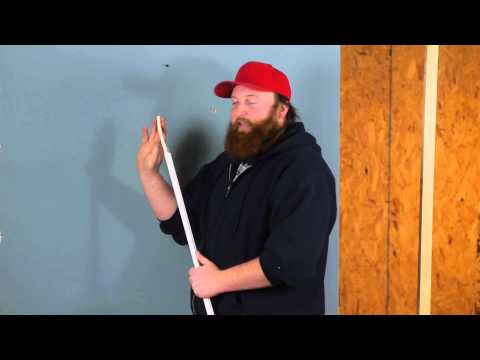 How to Install Wiring Without Cutting Drywall : Drywall Help