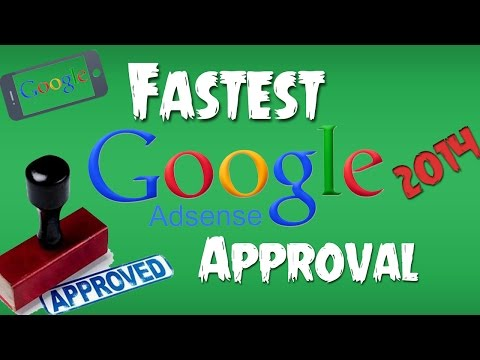 How To Get Google Adsense Approved in 1 Hour | 2015