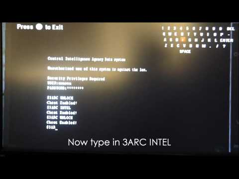 COD Black Ops; How to Unlock all levels and Intel (Wii)
