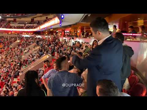 Fight @ American Airlines Arena - Heat vs Bulls Jan 30, 2019