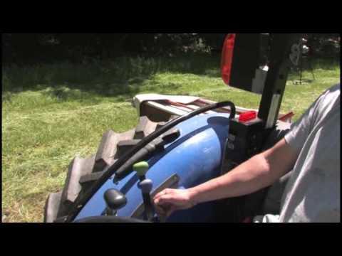 2008 Hay Season - Kuhn Disc Mower Overview