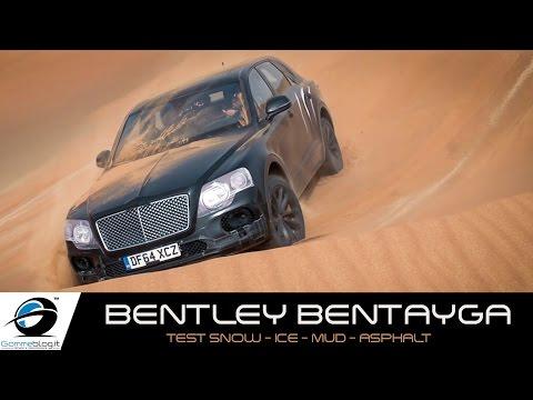 Bentley Bentayga | TEST SNOW - ICE - MUD - ASPHALT