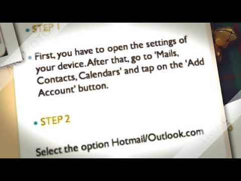 how to setup Hotmail Account In iPhone