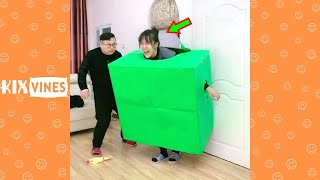 Funny videos 2021 ✦ Funny pranks try not to laugh challenge P198