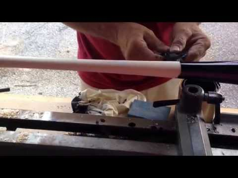Anchor Bat - staining process