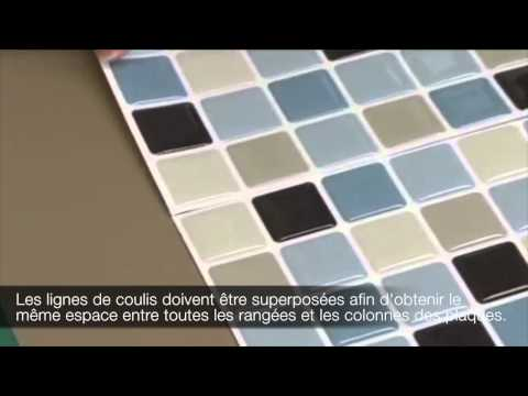 Installer les tuiles autocollantes Smart Tiles : Pourquoi superposer les lignes de coulis?