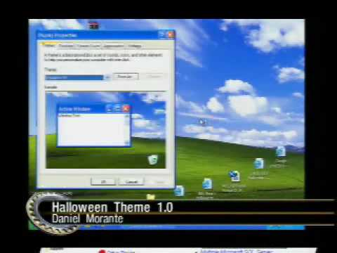 The Screen Savers - Download of the Day: Halloween Theme For Windows XP