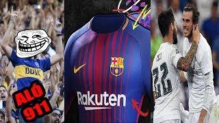 INSÓLITO Hincha llama al 911 por penal en contra de su equipo | La NUEVA Camiseta del Barca 2017