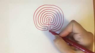 Labürindi Joonistamise õpetus