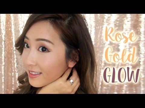 GRWM | Rose Gold Glow Makeup + My Fake Job