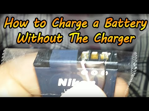 How to Charge a Battery Without a Charger