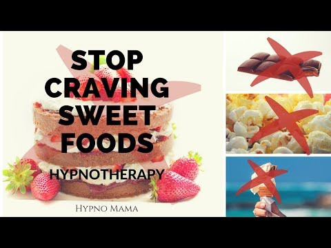 How to STOP CRAVING SWEET FOODS *Hypnotherapy*