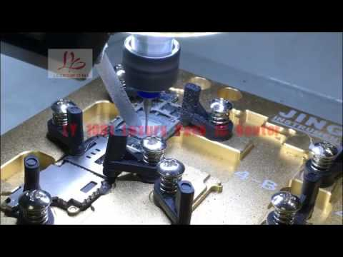 LY 1001 automatic IC Polishing grinding machine for iphone  removing icloud tool