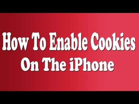 How To Enable/Disable Cookies On iPhone 4 & iPhone 5