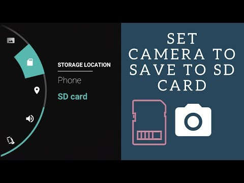 How to use the SD Card as the Default Storage of Photos and Videos on Android