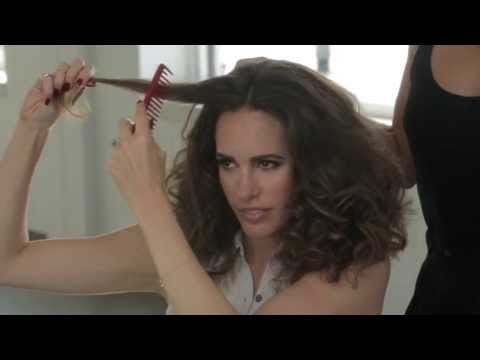 How-To: Retro, 70's Curls at the Jenny Packham Fashion Week Show 2013 | TRESemmé Style Setters