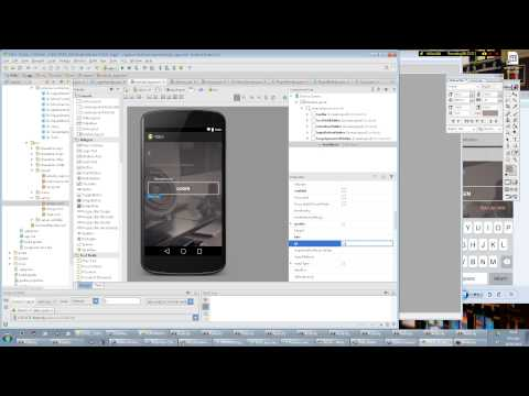 Android Studio Tutorial. Making a Register screen #1 (XML UI)