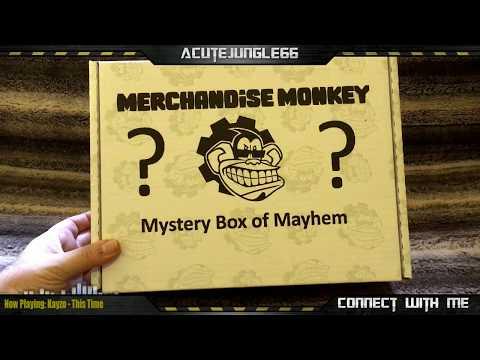 Merchandise Monkey - Mystery Box of Mayhem Unboxing